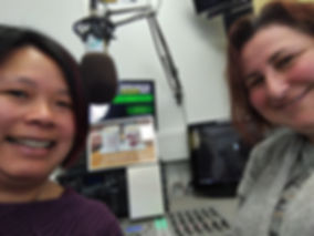 Ling and Anna from Winchester Radio