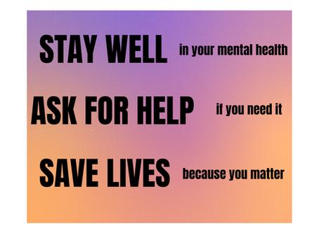 Mental Health Awareness Week – Spotlight