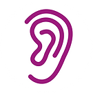 Listen-Icon of an ear