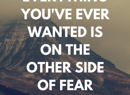 Where is your fear taking you?