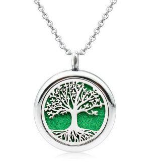 תליון ארומתרפי לשמנים - עץ החיים עדין