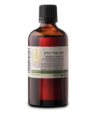 """שמן אתרי הדס (10 מ""""ל) - מיכל סבון טבעי"""