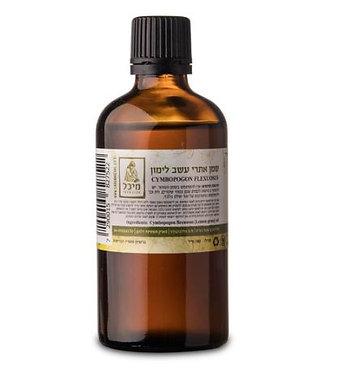"""שמן אתרי עשב לימון (10 מ""""ל) - מיכל סבון טבעי"""