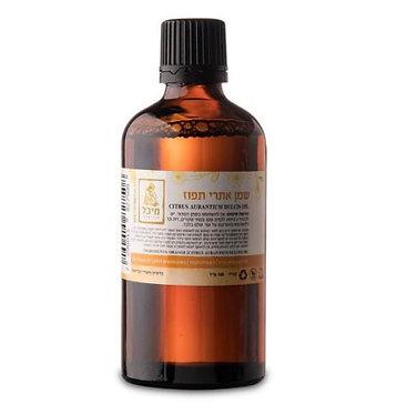 """שמן אתרי תפוז מתוק (10 מ""""ל) - מיכל סבון טבעי"""