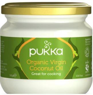 שמן קוקוס וירג'ן אורגני (300 גרם) - Pukka