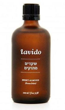 """שמן שקדים מתוקים (100 מ""""ל) - LAVIDO"""