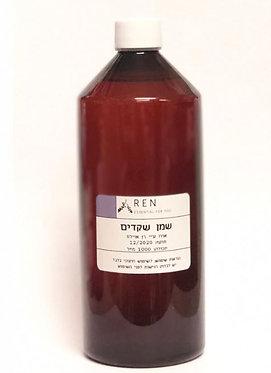 """שמן שקדים בקבוק פלסטיק (500 מ""""ל) - Ren Oils"""