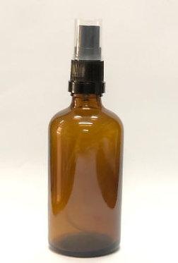 """בקבוק זכוכית עם מתז 50 מ""""ל (5-10 יחידות)"""
