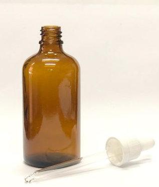 """בקבוק 50 מ""""ל עם פיפטת זכוכית (1-10 יחידות)"""