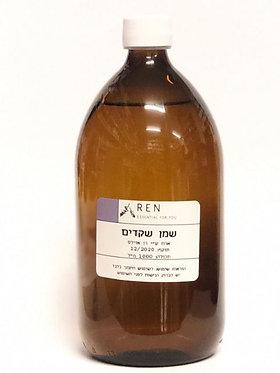 שמן שקדים בקבוק זכוכית (1 ליטר) - Ren Oils