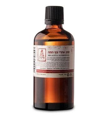 """שמן אתרי עץ התה (10 מ""""ל) - מיכל סבון טבעי"""