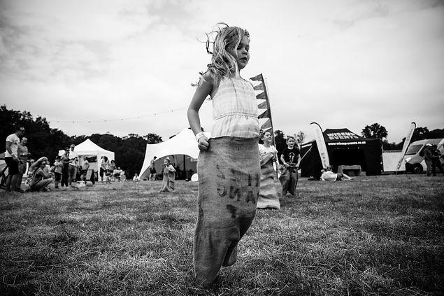 black and white festival