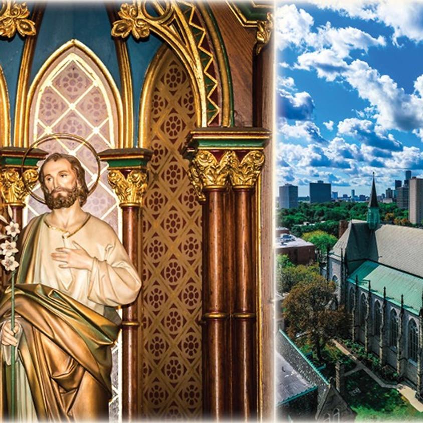Parish Pilgrimage to St. Joseph Shrine in Detroit MI