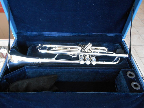 B&S Challenger 1 Silver-Plate Trumpet