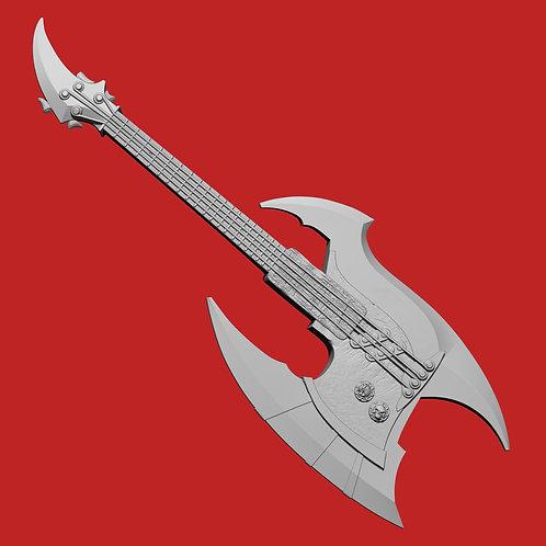 Battleaxe Bass Guitar