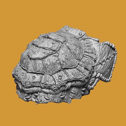 Turtle Shell Shoulder Pad