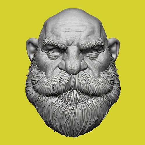 Beard Stoic Bilton