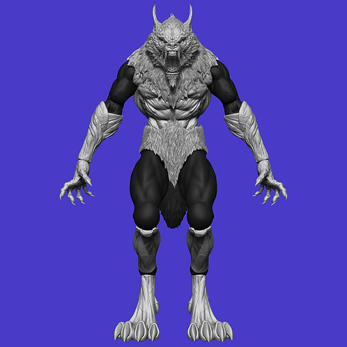 Werewolf Kit (for Barbarian)
