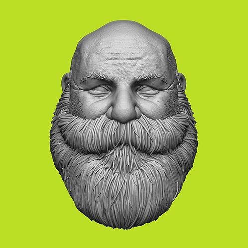 Full Bearded, Dwarf Waltor