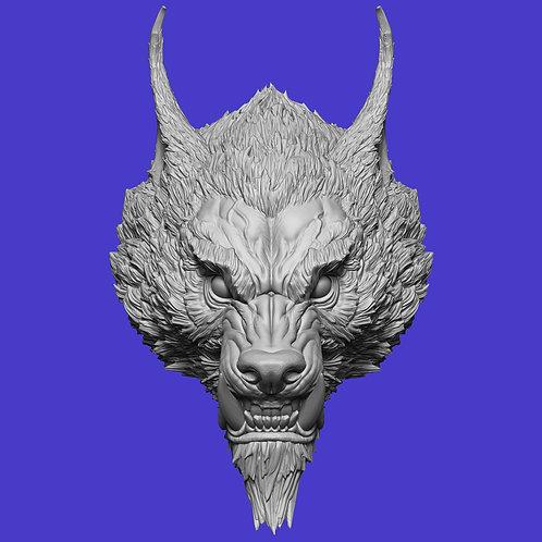 Marric The Ravenous - Werewolf Head