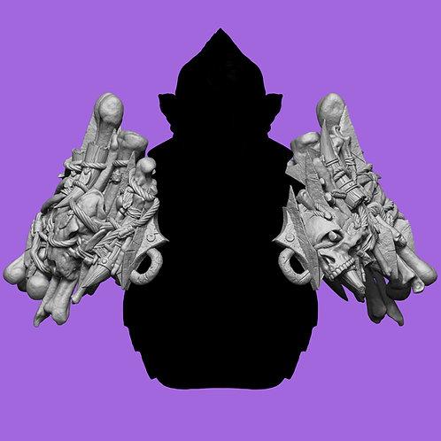 Knath Trophy Hunter Shoulder Armor