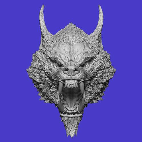 Marric The Ravenous - Battle Werewolf Head