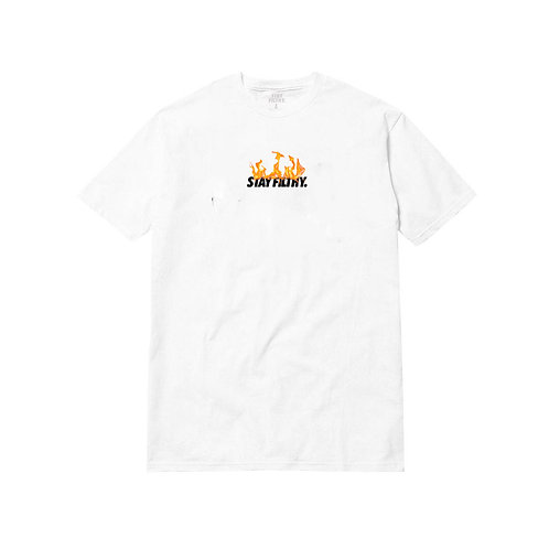 Stay Filthy. Flames S/S T-Shirt