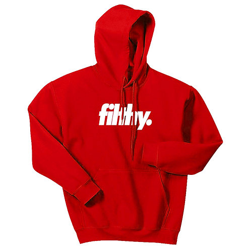 Red filthy. Core Logo Hoodie