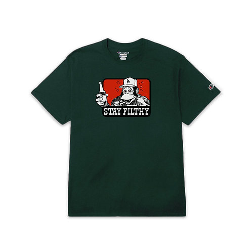 Stay Filthy Cross Faded S/S T-Shirt