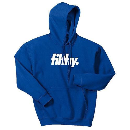 Blue filthy. Core Logo Hoodie