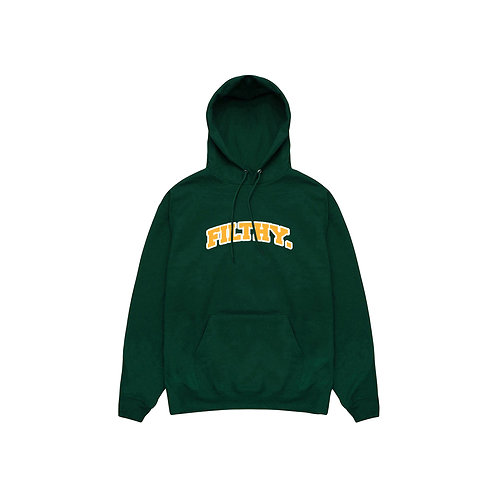 filthy. Freshman Dark Green Pullover Hoodie