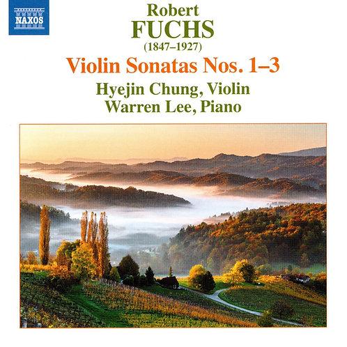 Fuchs Violin Sonatas Nos.1-3
