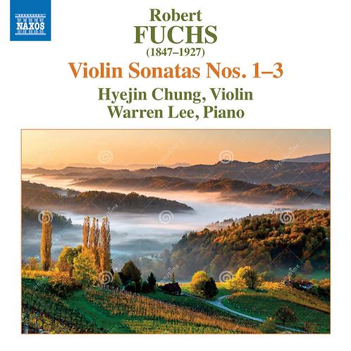 Fuchs Violin Sonatas No.1-3