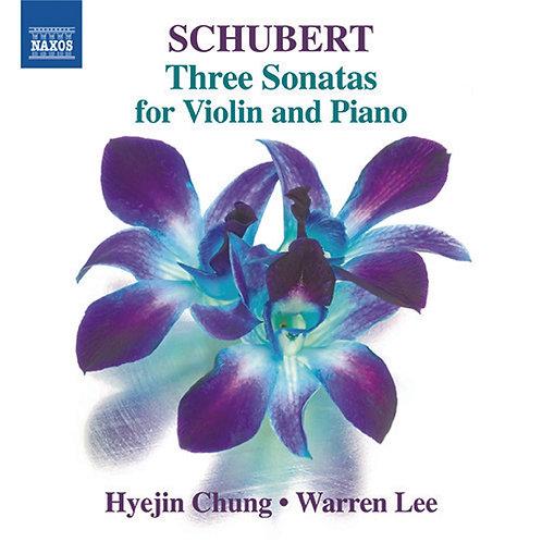 Schubert Three Sonatas for Violin and Piano