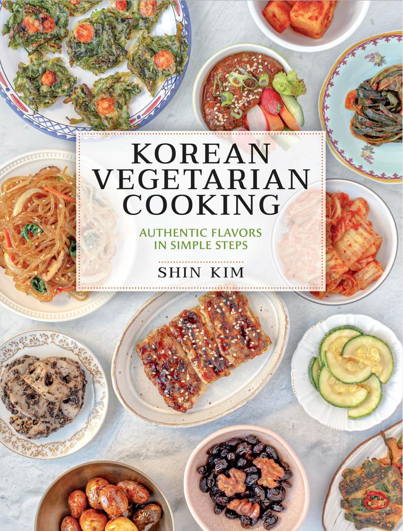 Korean Vegetarian Cooking Cover