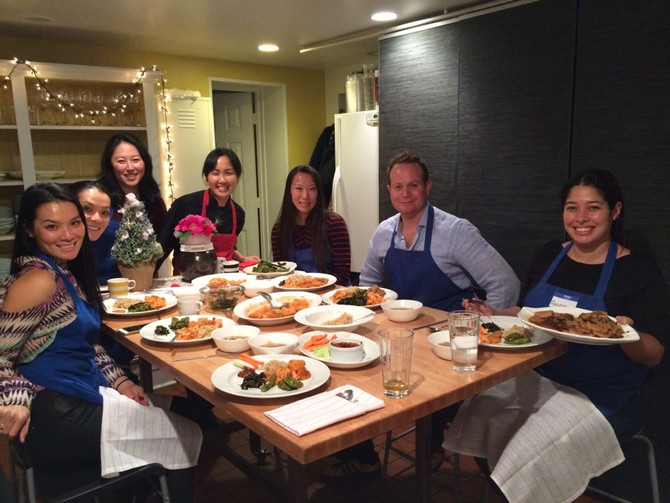 Korean Cooking Classes in December