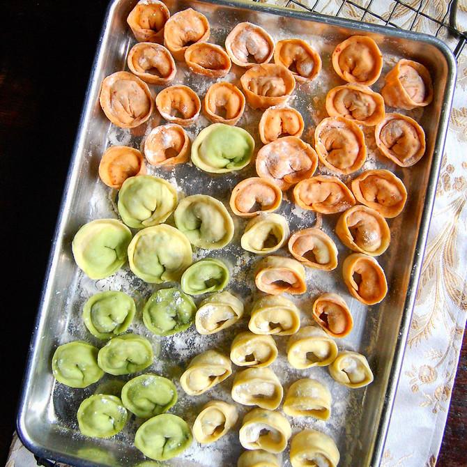 Kimchi Dumplings from Scratch