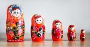 Matryoshka dolls help us understand the pancha kosha