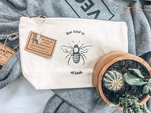 Bee Kind to All Kinds - Accessory Bag