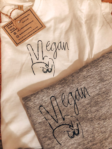 V for Vegan - Women's Tee
