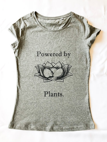 Powered by Plants - Women's Tee