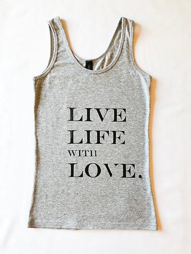 Live Life with Love - Women's vest