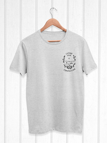 Expand your compassion mens tee