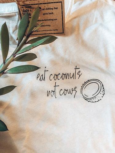 Eat coconuts not cows - Men's Tee