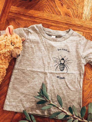 Bee Kind to All Kinds - Kids Tee