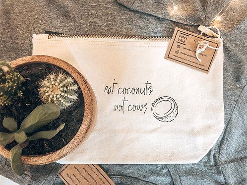 Eat coconuts not cows - Accessory Bag