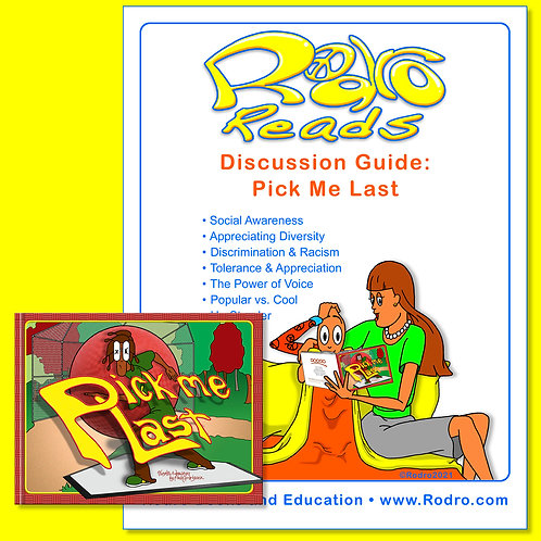 Pick Me Last: Book & Discussion Guide