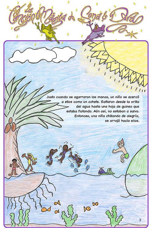 La Canción Mágica de Sona y Dora (Sp. pg-3)