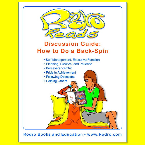 How to Do a Back-Spin: Discussion Guide