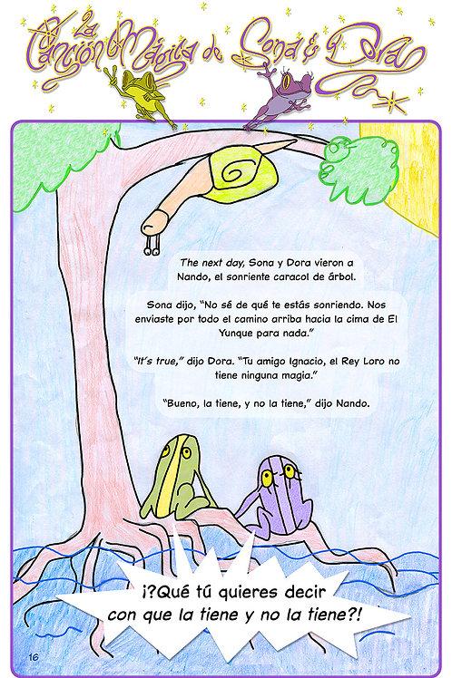 La Canción Mágica de Sona y Dora (Sp. pg-16)